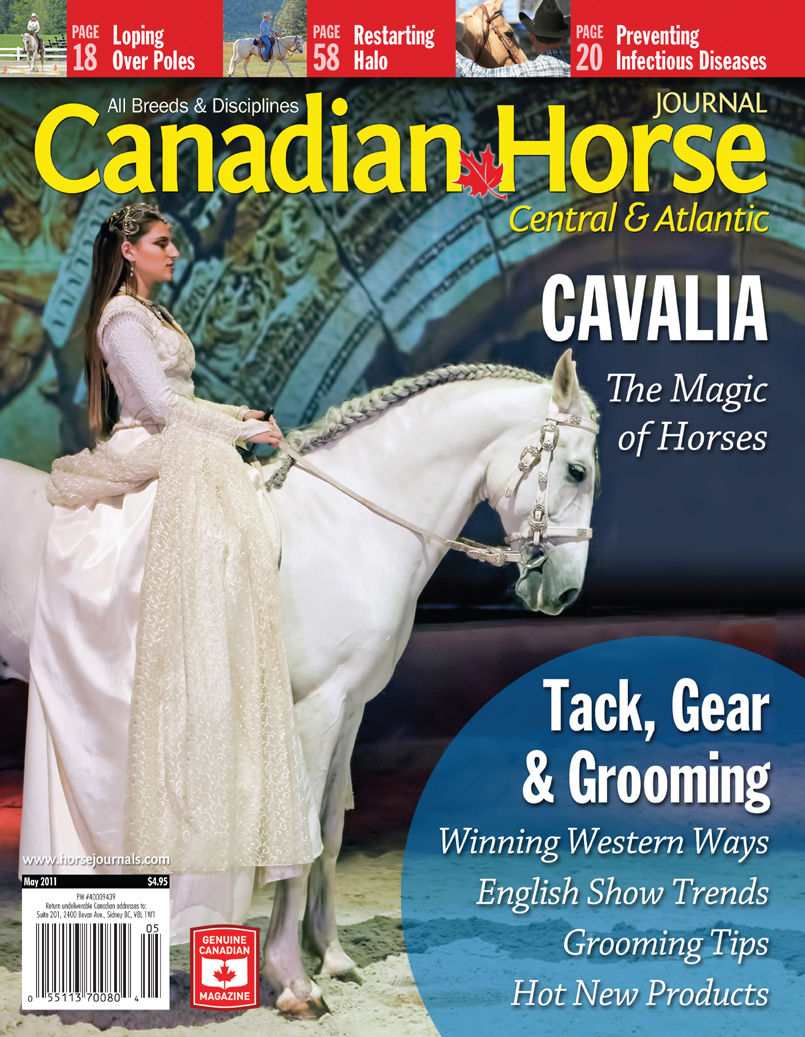 Canadian Horse Journal cover