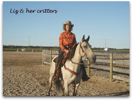 liz whiskwy at pine ridge show
