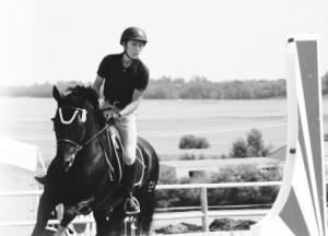 quinn and horse photo