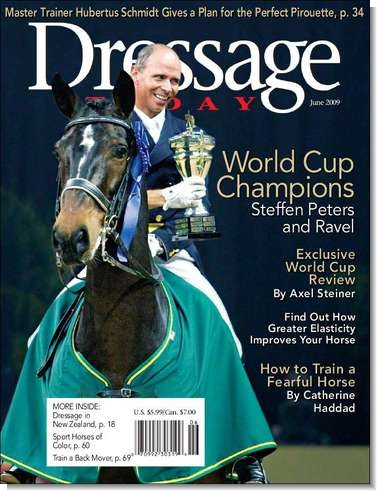 ravel dressage cover