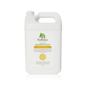 SQUEAKY GREEN & CLEAN Shampoo 4 litre bulk